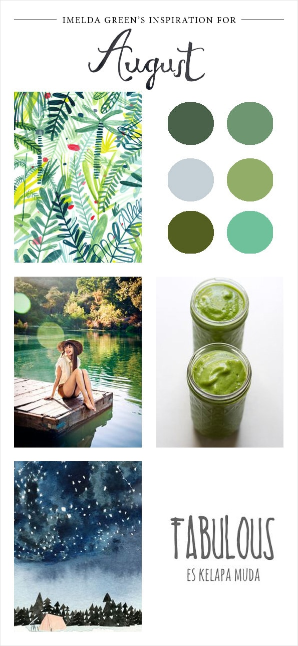 Visual inspiration for August