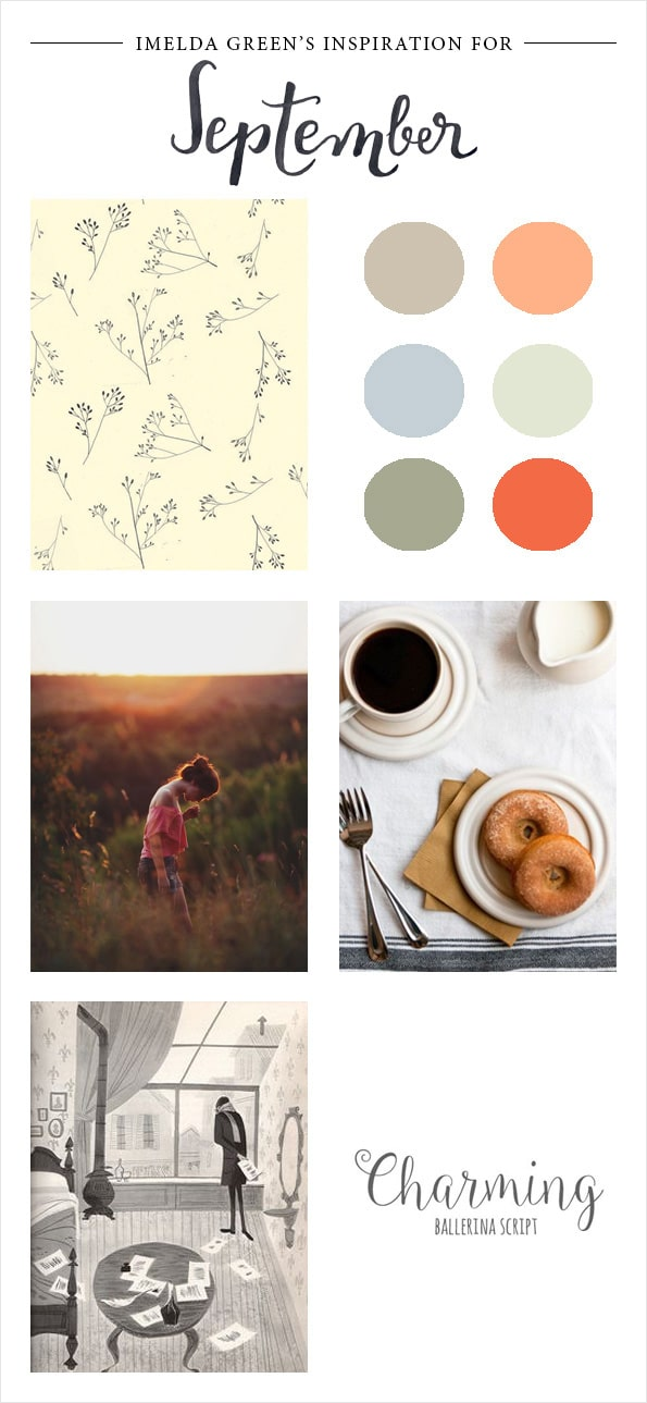 Visual inspiration for september