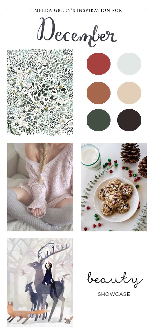 Visual inspiration for december