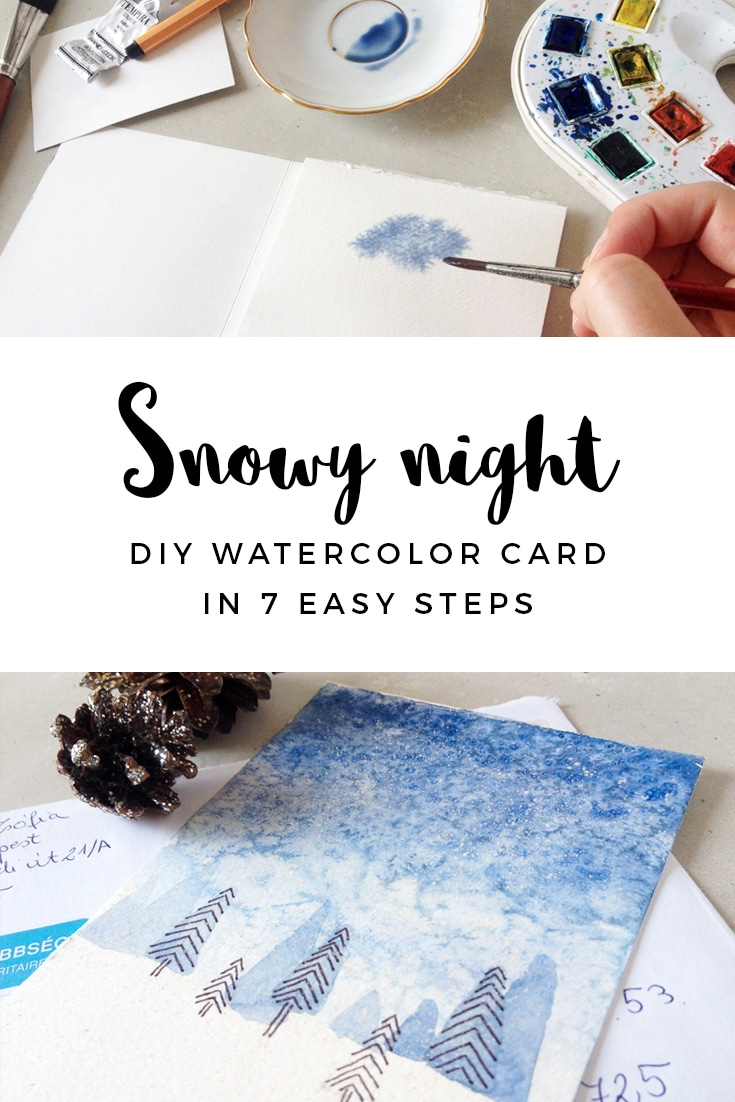DIY Christmas card in 7 easy steps