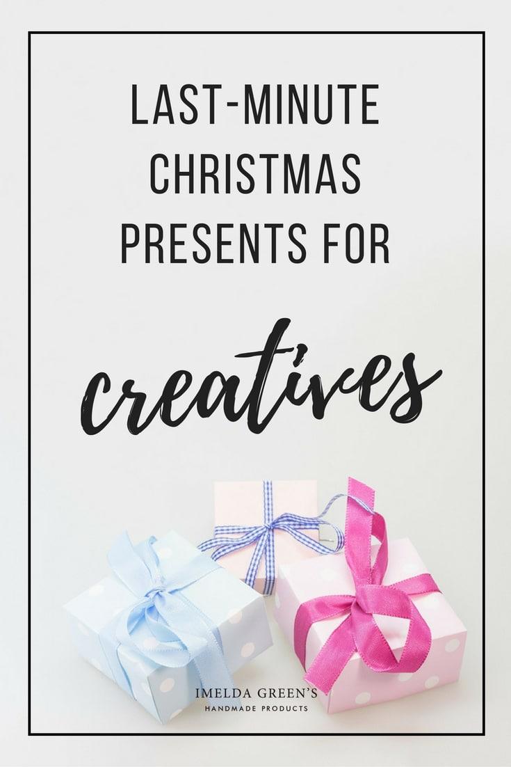 Last-minute Christmas present ideas for creatives