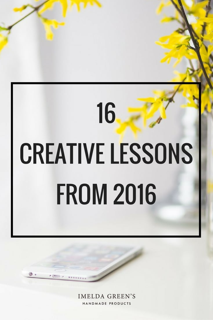16 creative lessons from 2016