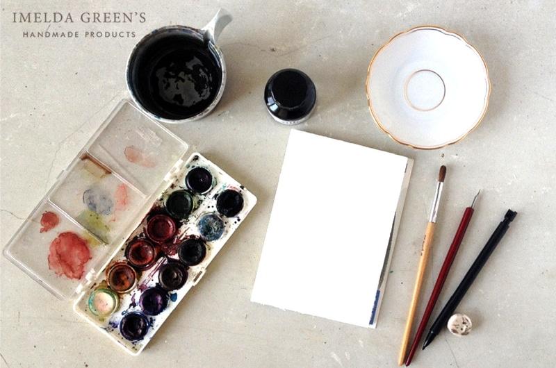Relax watercolor tutorial