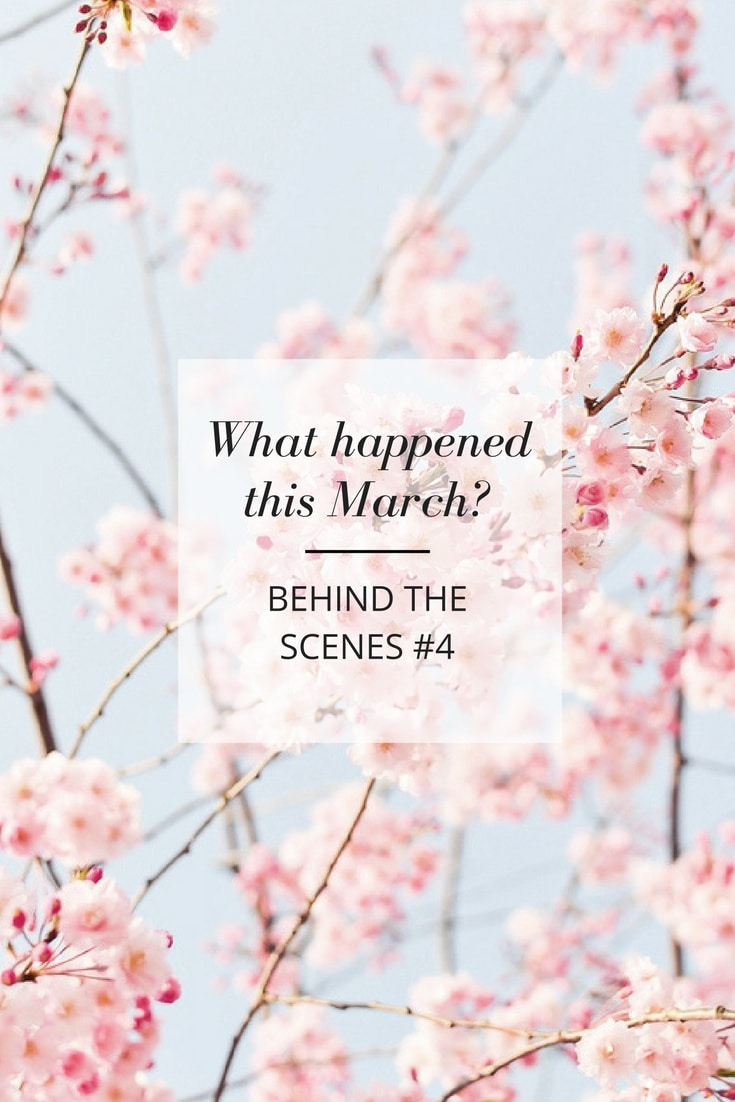 Behind the scenes 2017 March - creative life, illustration and more