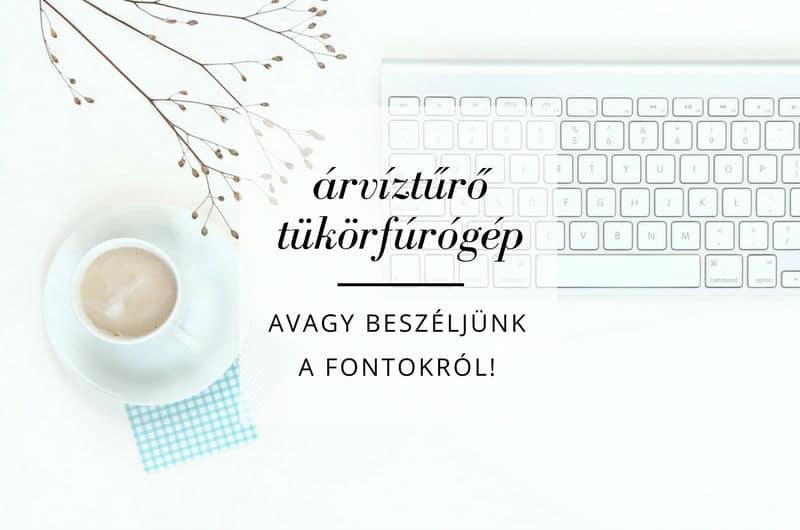 Let's talk about fonts!