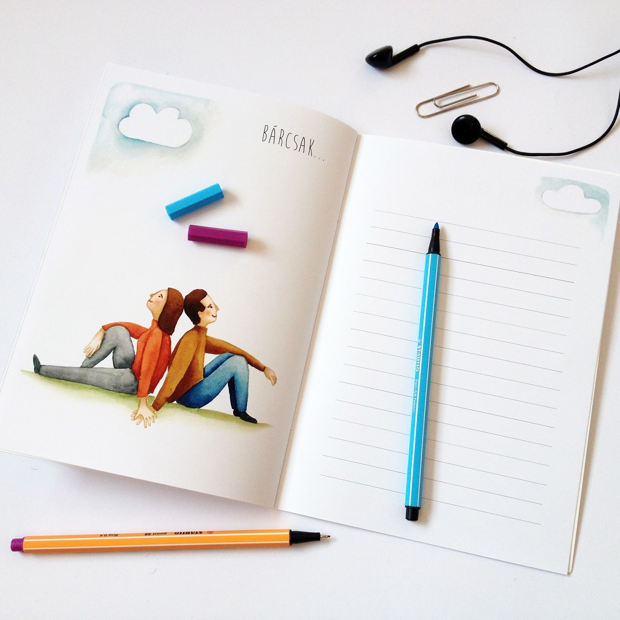 Love book - exercisebook about love