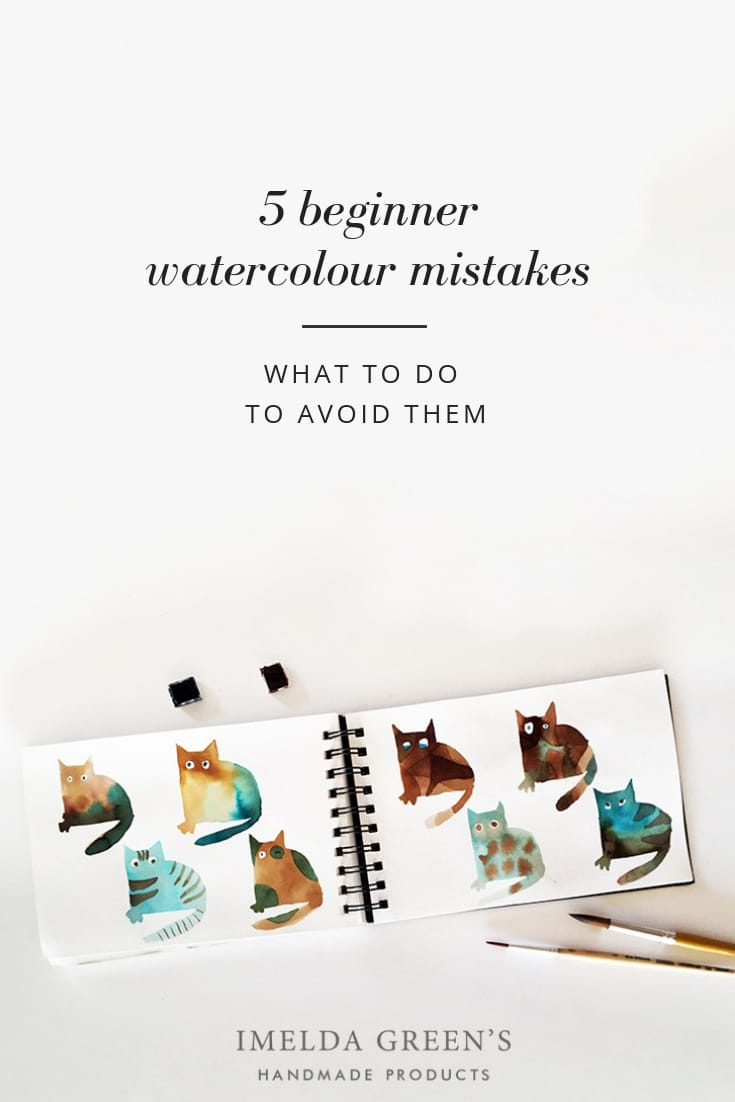 5 beginner watercolour mistakes and how to avoid them