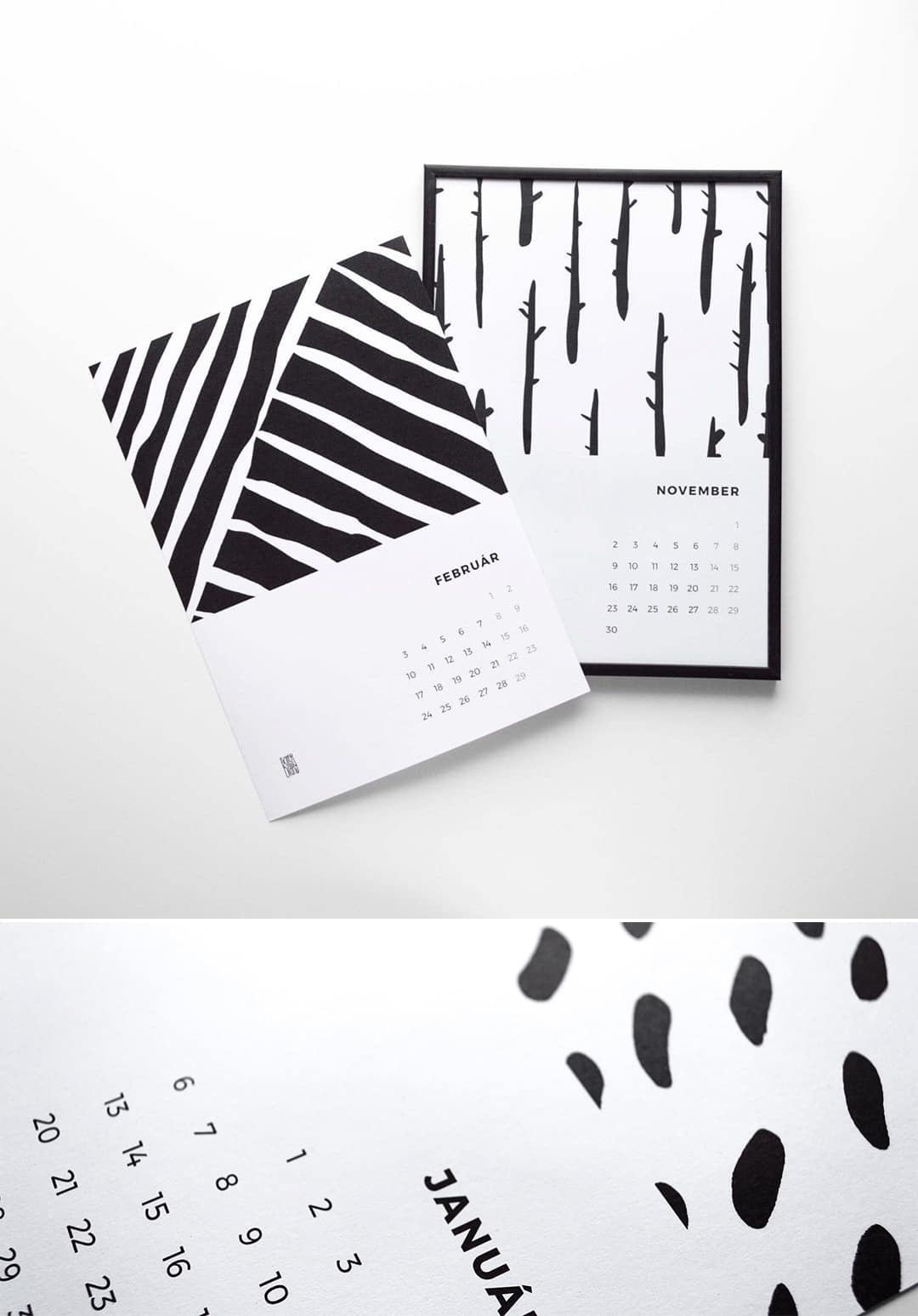 Create your own calendar in 2020 - downloadable blank calendar template | Exiter Diary