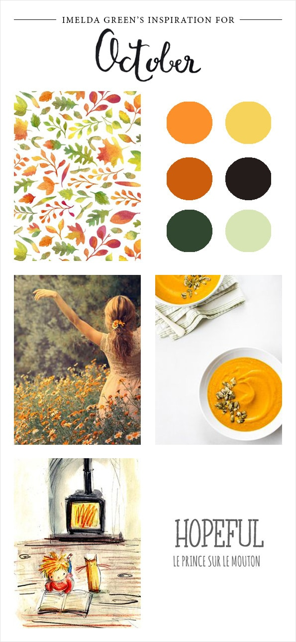 Visual inspiration for october