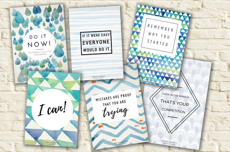 Downloadable inspiration posters