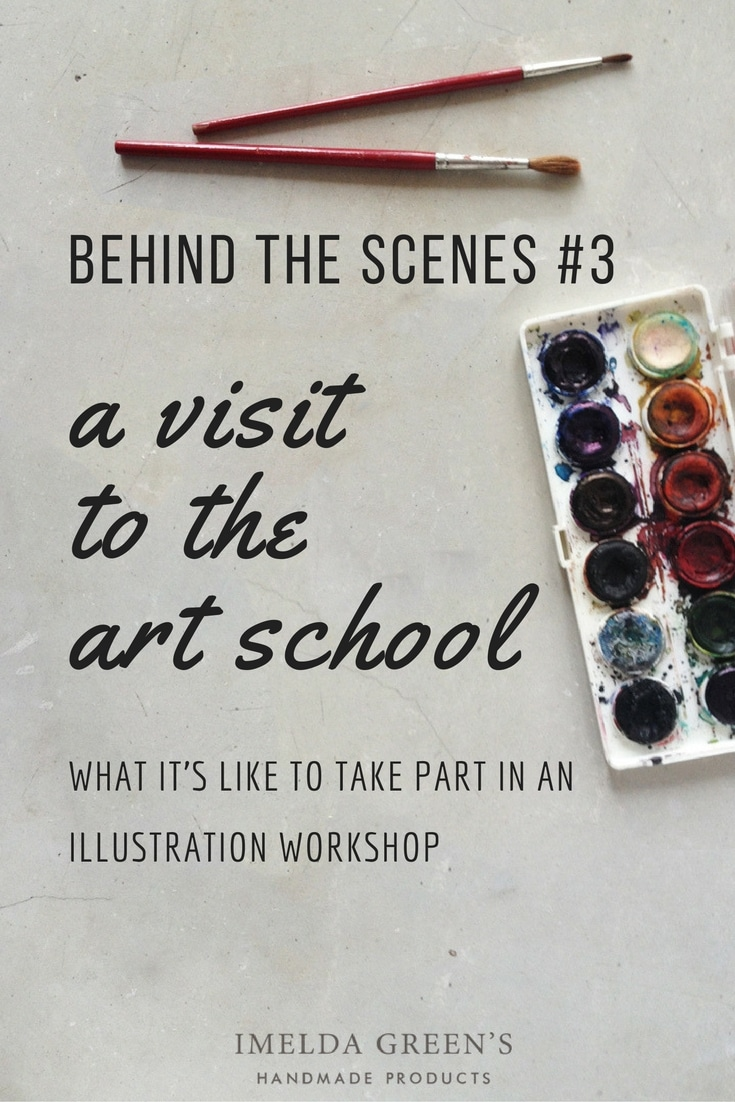 Experiences of visiting an illustration-workshop