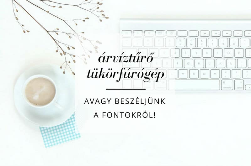 Let's talk about fonts!
