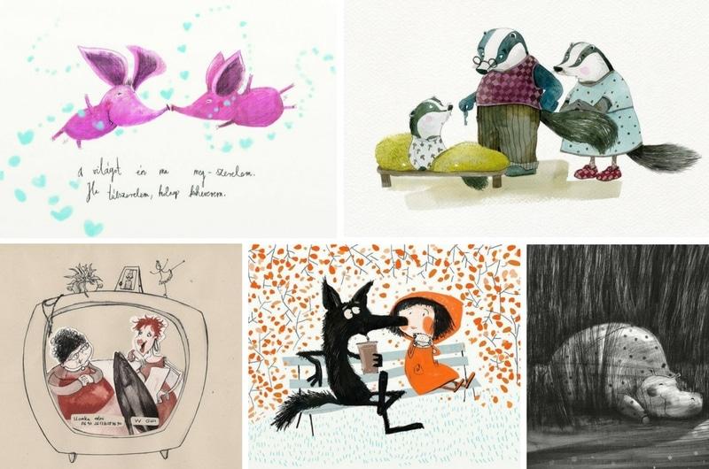 5 Hungarian Illustrators I follow - Mónika Egri