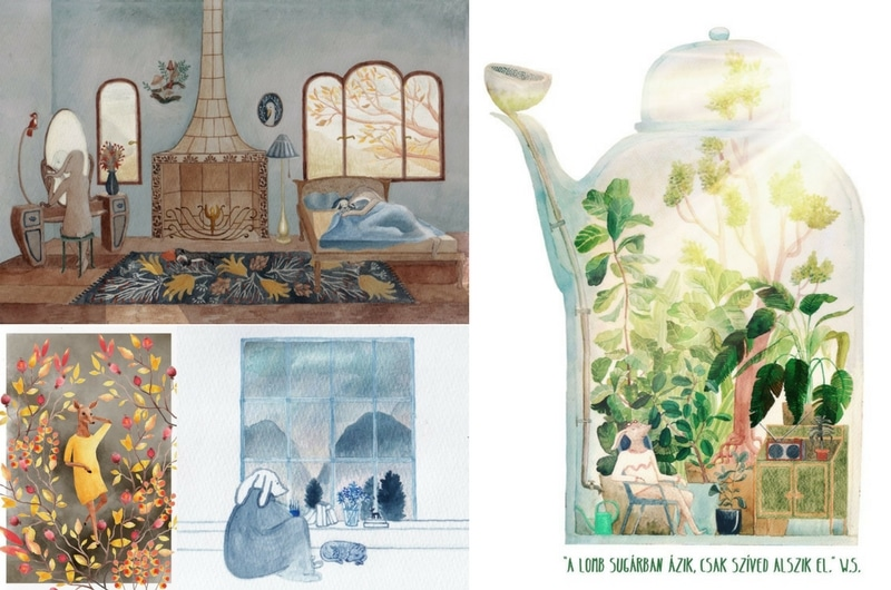 5 Hungarian Illustrators I follow - Lilla Pájer