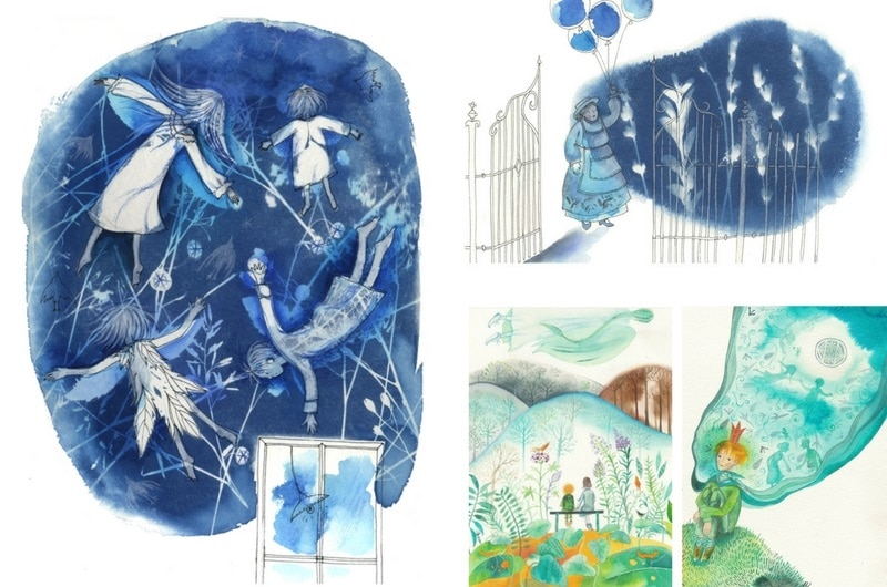5 Hungarian Illustrators I follow - Cecília Simonyi