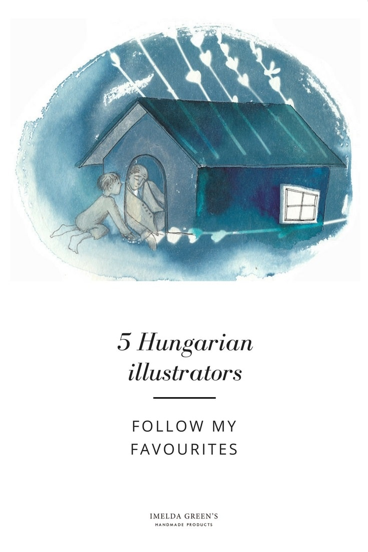 5 Hungarian Illustrators I follow /cover by Cecília Simonyi/