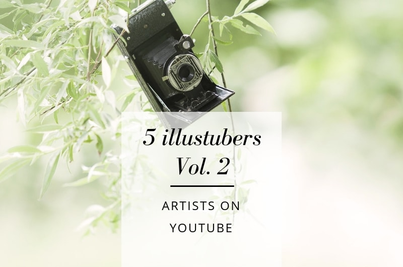 5 new illustubers to follow | a review of artists on youtube