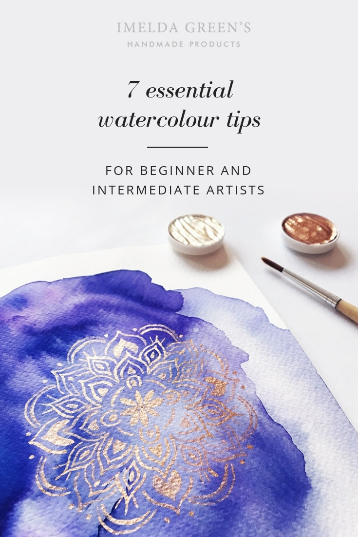 Top 7 tips for watercolour beginners