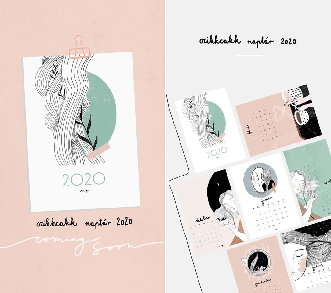 Create your own calendar in 2020 - downloadable blank calendar template | Czikkcakk