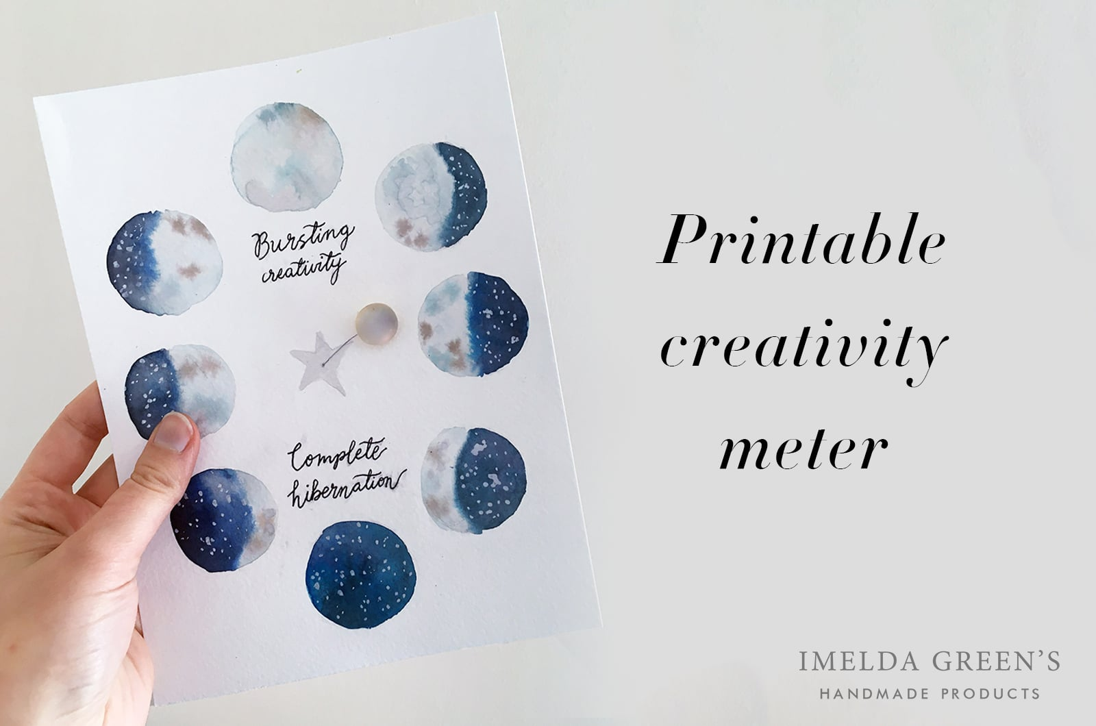 Creativity meter | free printable