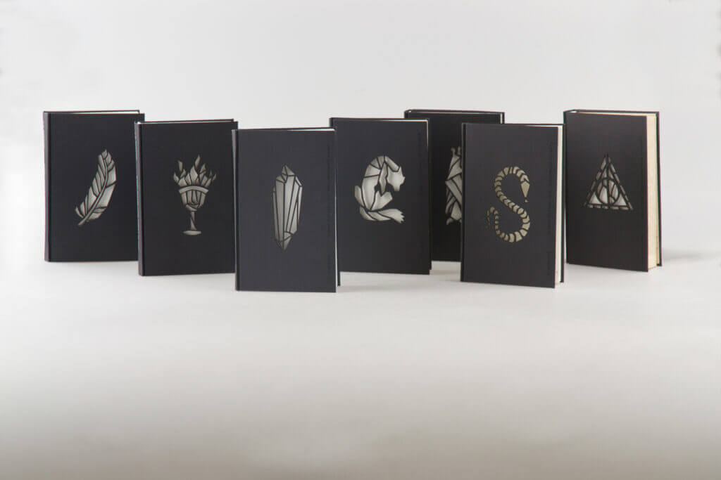 Harry Potter covers that please a graphic designer - Nagy Kincső